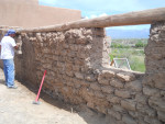Preserving an Old Adobe Brick Structure