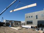 Installing a beam