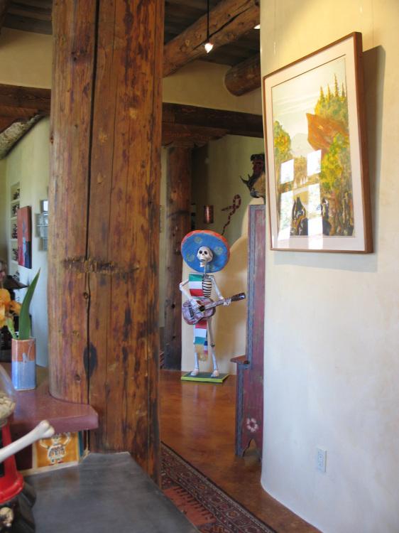 09 hallway Taos of southwestern art