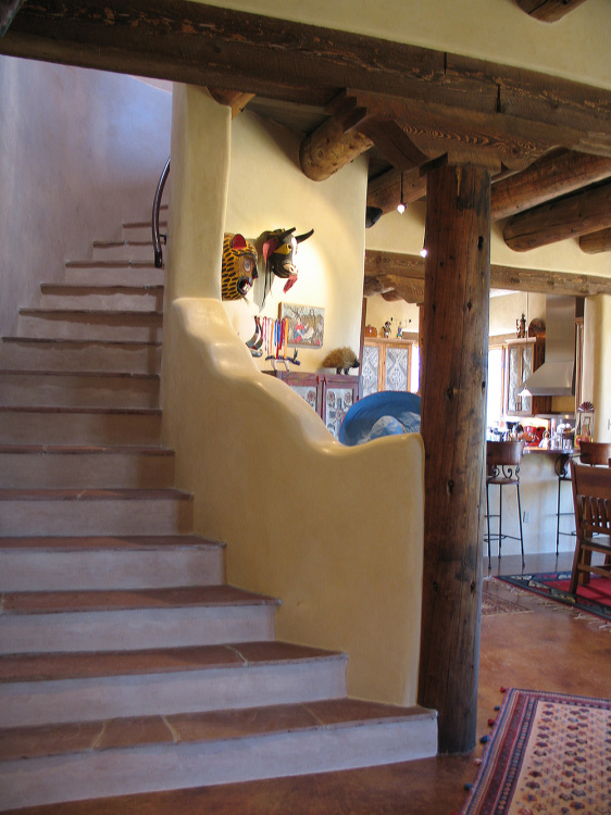 09a curved stairs southwestern