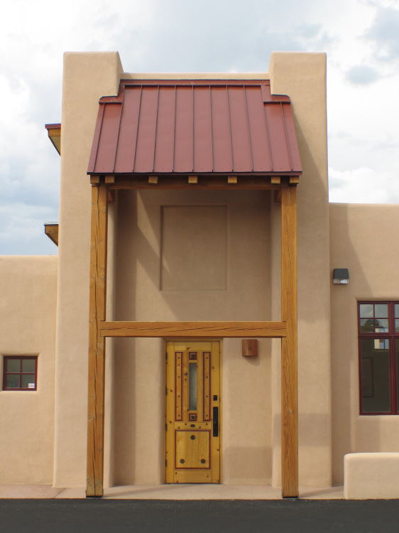 Taos restaurant front entrance