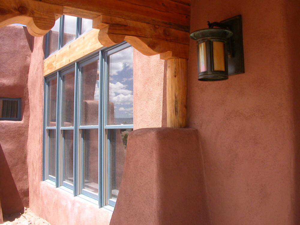 Entry porch Abiquiu