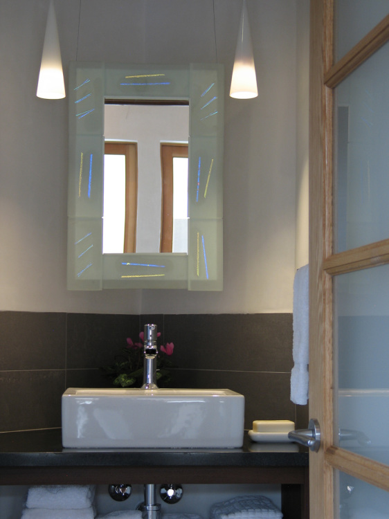 Taos euro- style bathroom