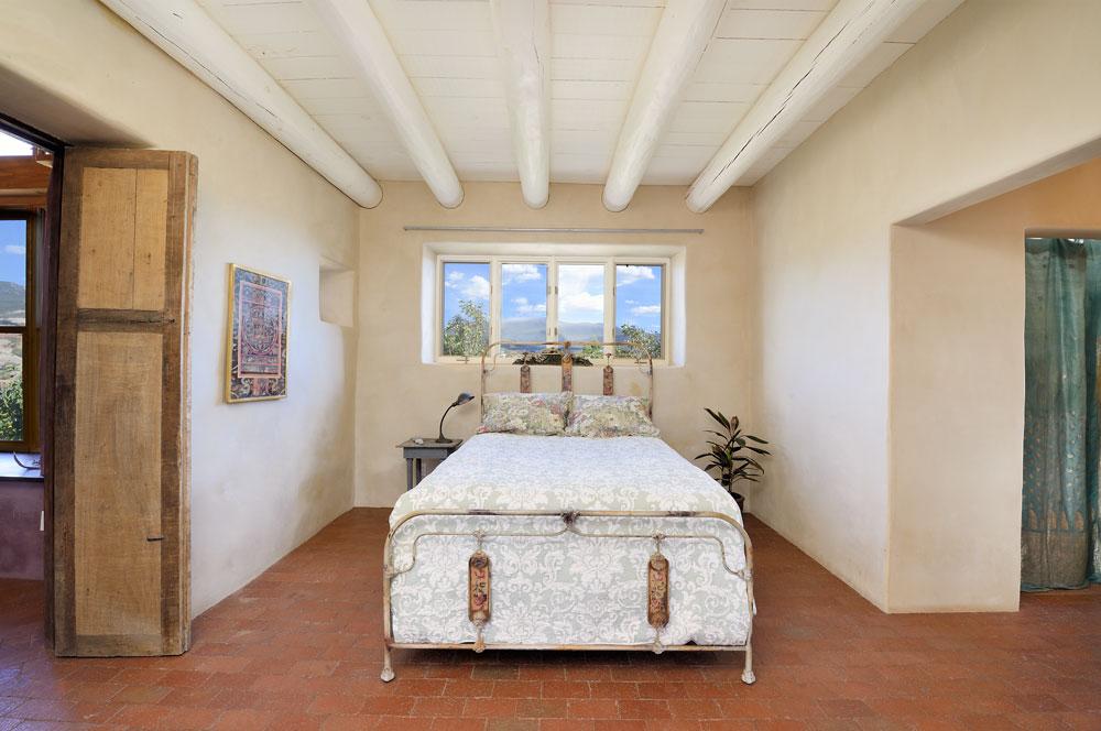southwestern bedroom, Abiquiu
