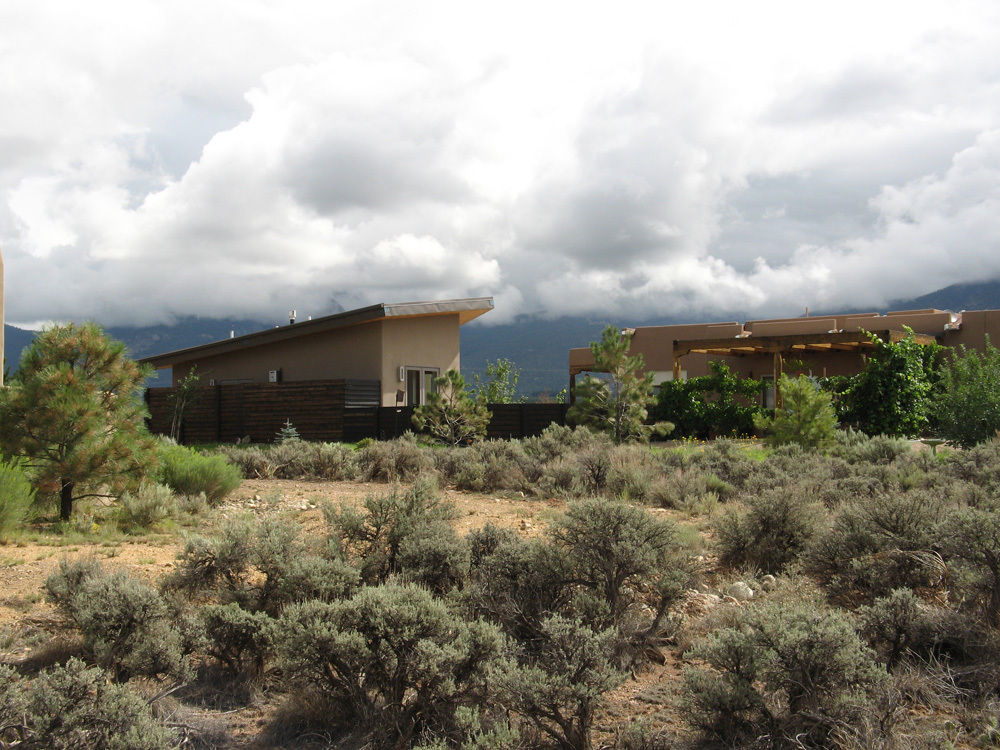 Big Roof studio in Taos