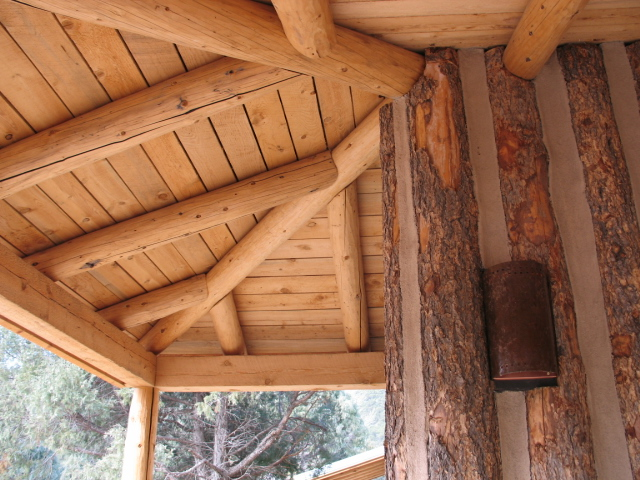 Library porch, Pot Creek