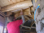 Building a Curved Barrel Vaulted Ceiling