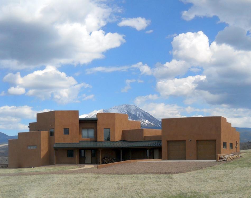 modern/southwestern la-veta residence